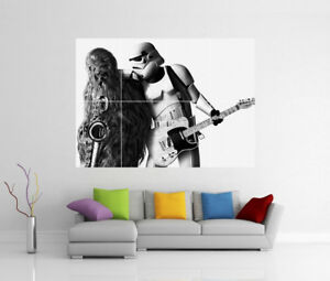 CHEWBACCA STAR WARS POSTER PICTURE WALL ART PRINT A3 AMK2357