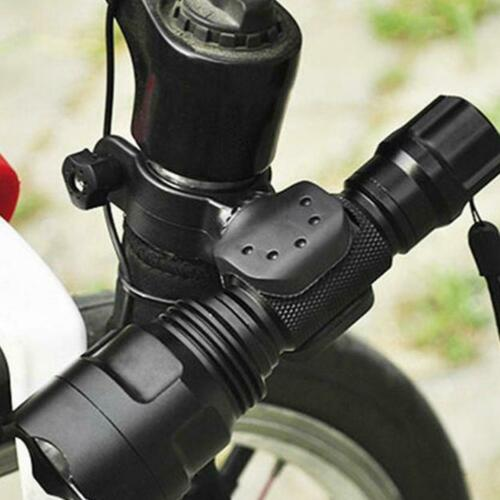 360 Bikes LED Flashlight Mount Holder Lamp Stand Bicycle Torch Clip Clamp U-shap