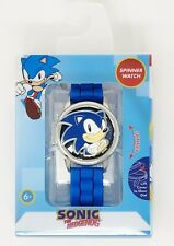 Sonic The Hedgehog Collectors Edition Analog Spinner Watch With Flip Top Snc9001 For Sale Online Ebay