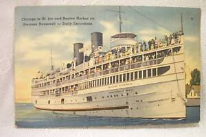 OLD-POSTCARD-STEAMER-THEODORE-ROOSEVELT-SHIP