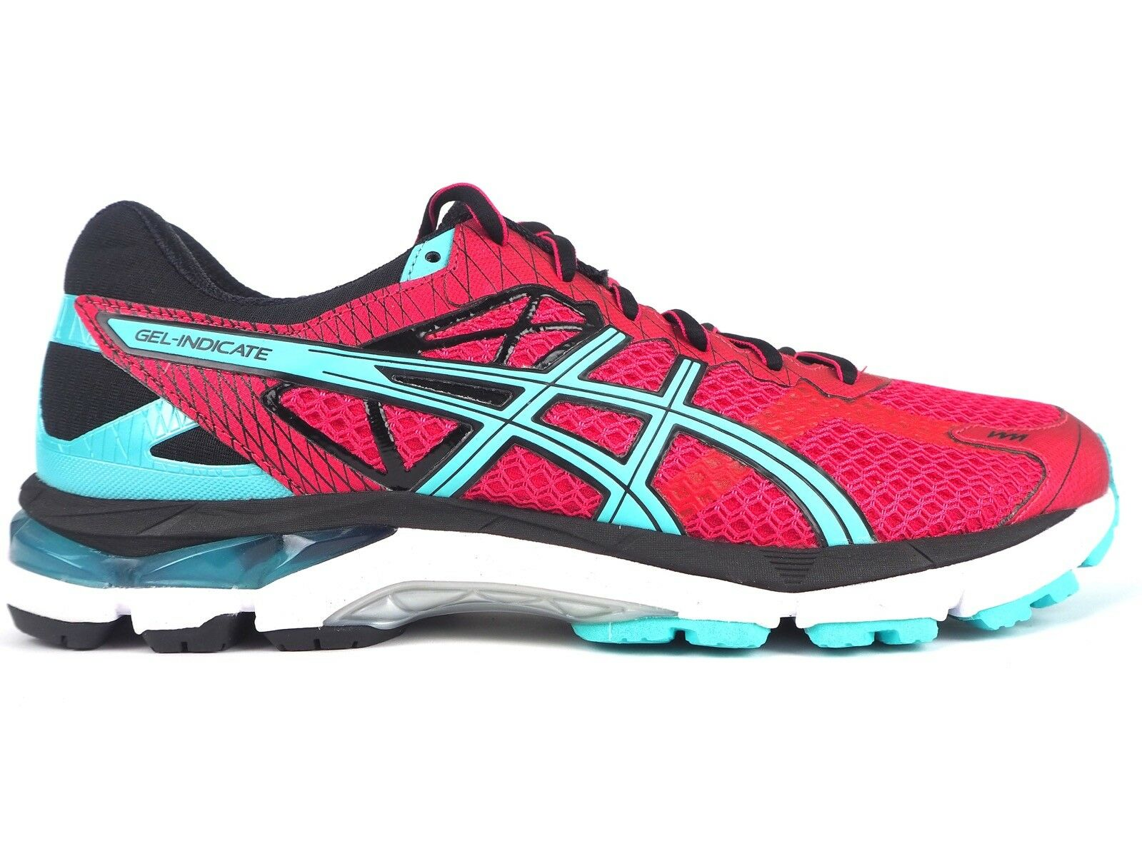 Asics Gel Indicate 2 T65SQ 2140 Lace Up Azea Blau Running Mesh Trainers