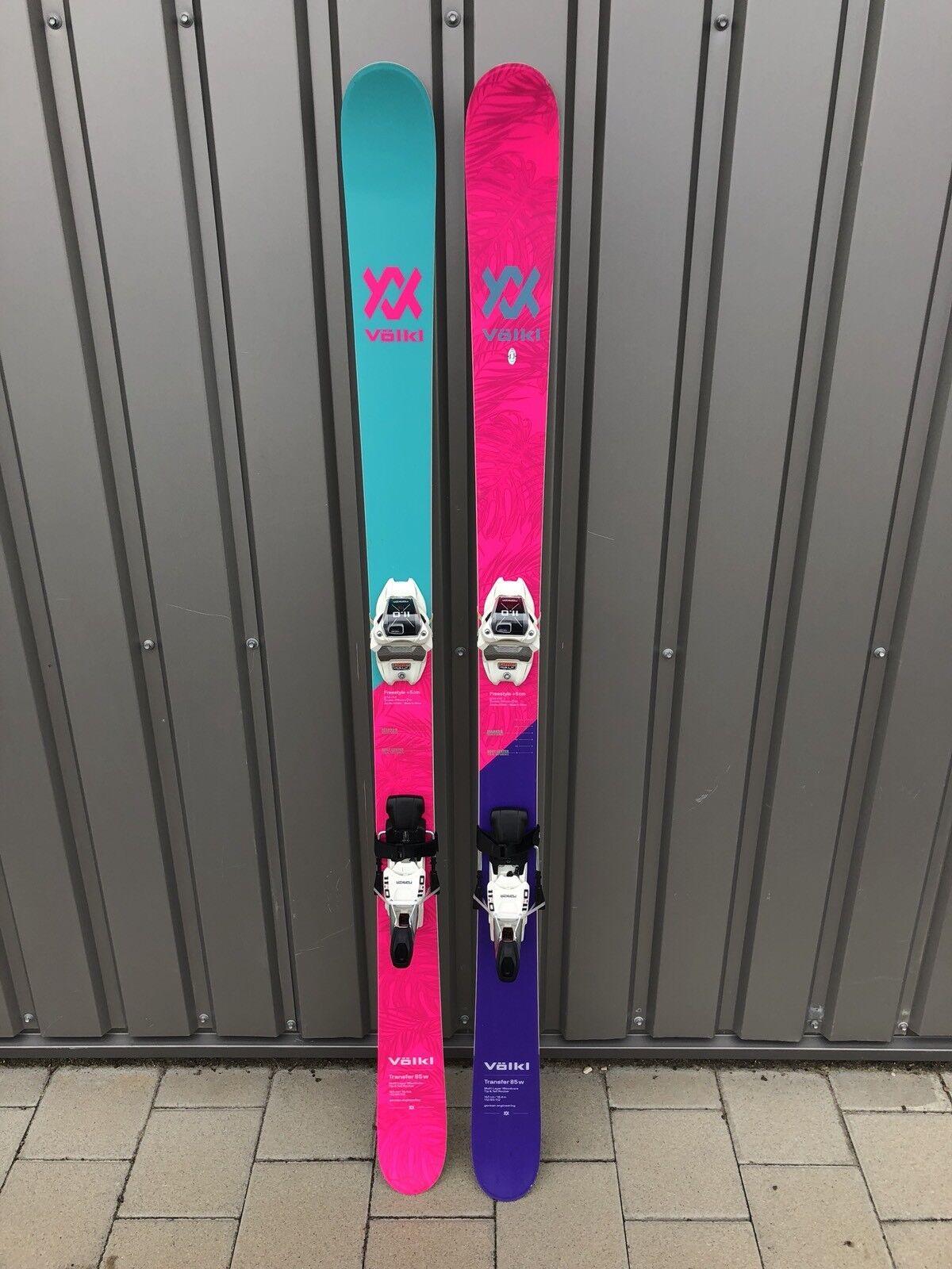 VÖLKL TRANSFER 85W Ski 163cm / MARKER Fastrak 3 3 3 Bindg. Mod. 2015/16 Testski T163 5c7c48