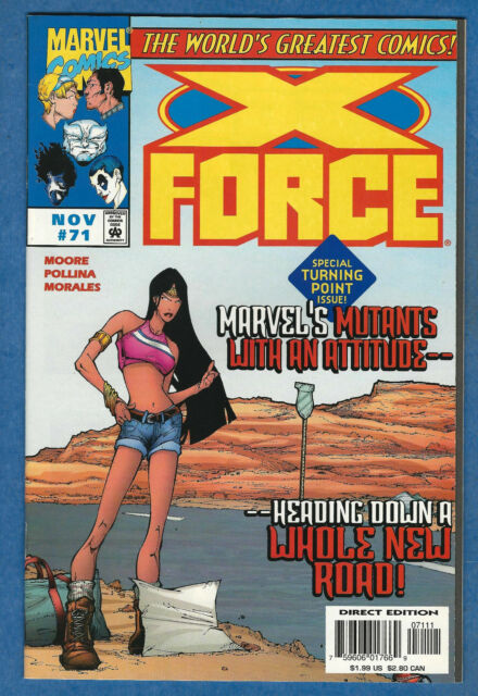 X-FORCE # 71 - 1997 Marvel (vf)  Deadpool