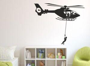 Wandaufkleber Wandtattoo Aufkleber Kinder Tattoo Hubschrauber Helikopter 75 Ebay