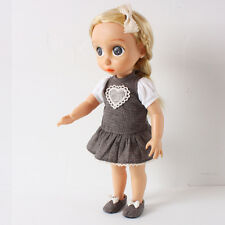 Disney Baby Doll Clothes / Heart Dress/ Animator's collection Princess 16 inch