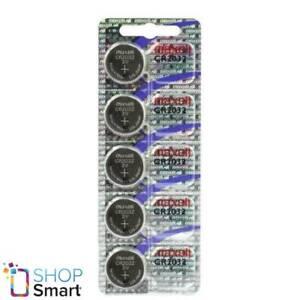 5 MAXELL CR2032 LITHIUM BATTERIES 3V COIN CELL DL2032 HOLOGRAM PACK EXP 2021 NEW