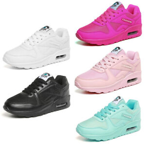 Damen-Flache-Schuhe-Fashion-Sneaker-Sportschuhe-Turnschuhe-Laufschuhe-Freizeit