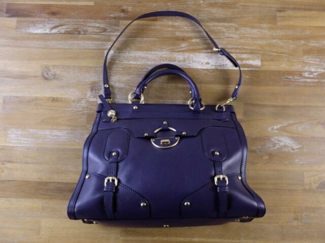 97ab7e1a488d Versace Bag Shoulder Vitello Medusa Logo Blue Leather Italy Ladies ...