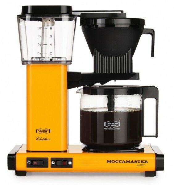 Moccamaster Kaffeefiltermaschine KBG 741 AO yellow pepper / gelb / orange
