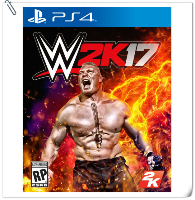 PS4 WWE 2K17 SONY PlayStation 2K Action Games