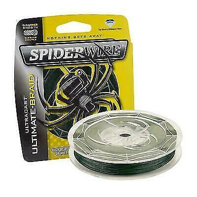 Spiderwire Ultracast Ultimate Braid Green Grün 8 Carrier Wunschlänge 0,12€//m