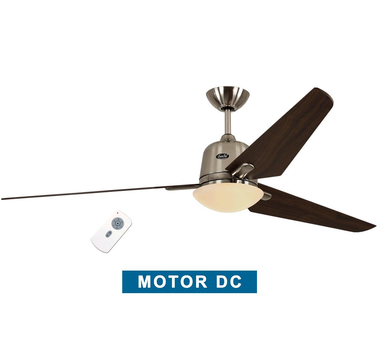 Ceiling fan with light CasaFan 516089 ECO AVIATOS 162 walnut / satin...
