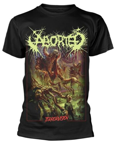 NEW /& OFFICIAL! Aborted /'Terrorvision A Legend Of Pure Terror/' T-Shirt