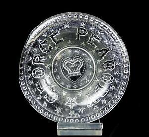 H-GREENER-SUNDERLAND-FLINT-GLASS-EAPG-GEORGE-PEABODY-5-034-COMMEMORATIVE-PLATE-1869
