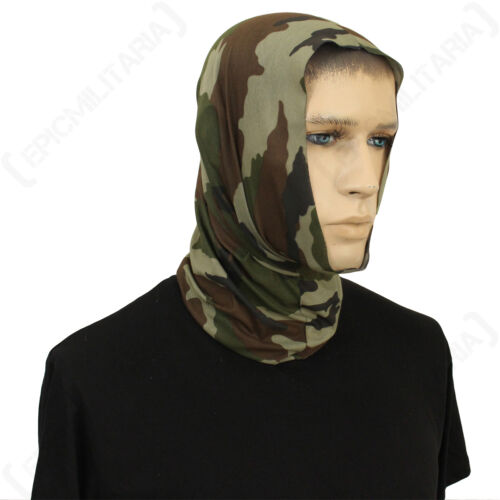 Snood Wrap Balaclava Head scarf Band Military CCE Camo Multi Function Scarf