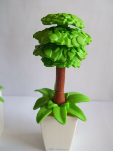 """Playmobil,SMALL POTTED TREES 2 4/"""" TALL"""