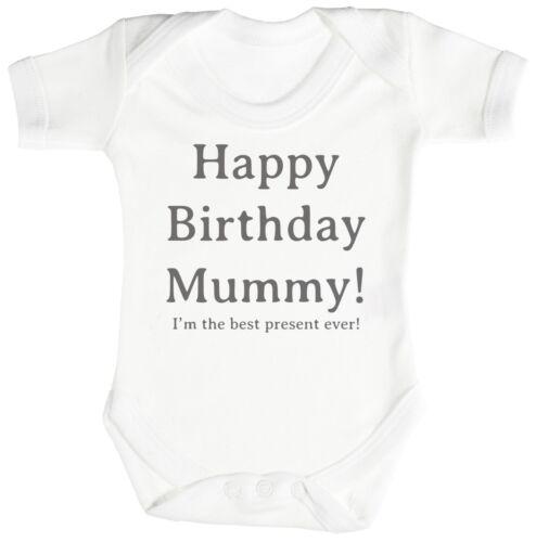 Buon Compleanno Mamma Baby Body//Babygrow