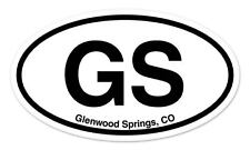 "PBG Palm Beach Gardens Florida Oval car window bumper sticker decal 5/"" x 3/"""