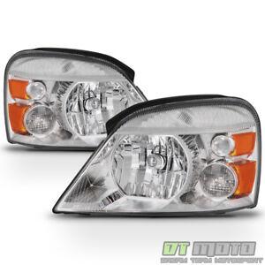 Image Is Loading 2004 2007 Ford Freestar Mercury Monterey Headlights Headlamps