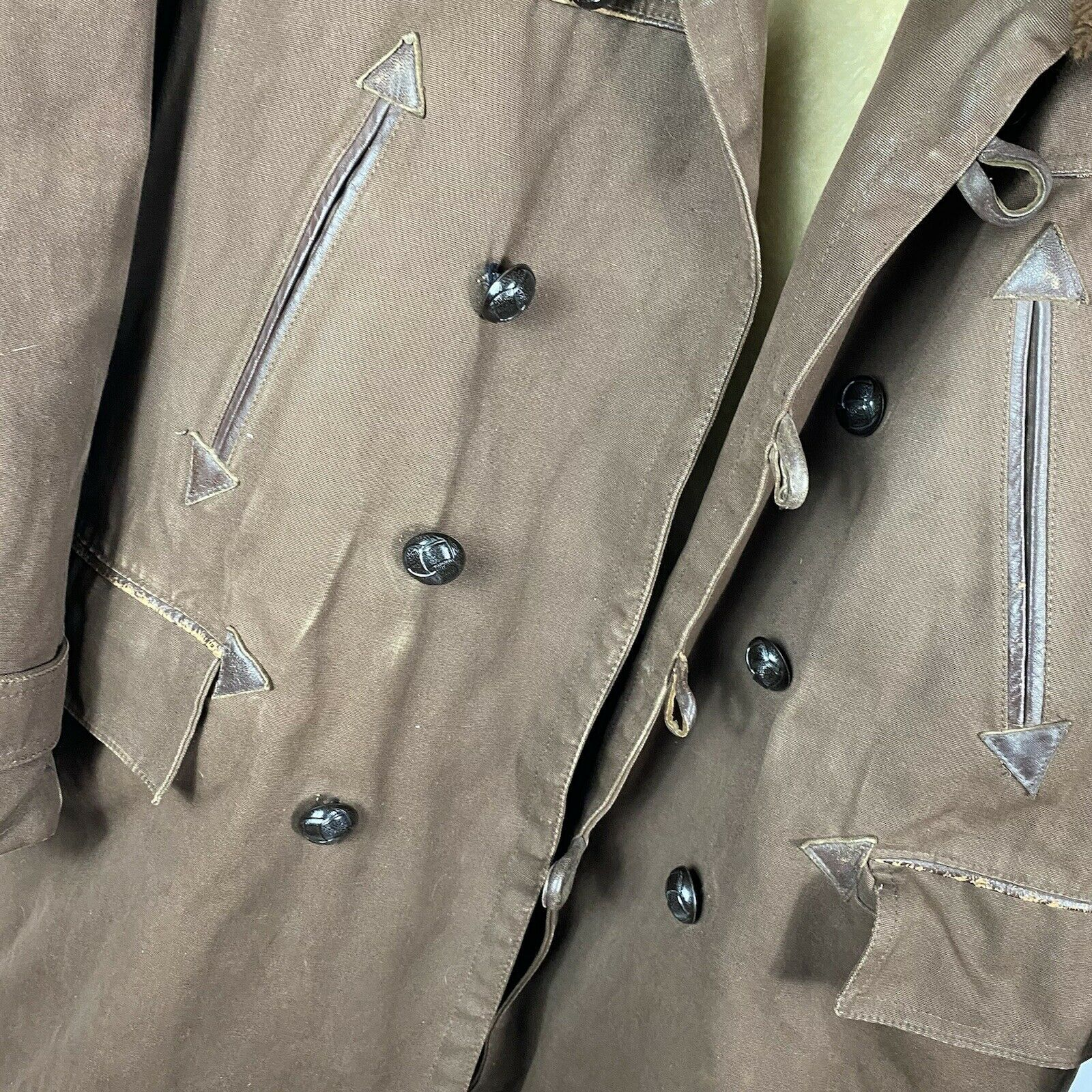 Vintage 1950s French Workwear Canadian Winter Jac… - image 3