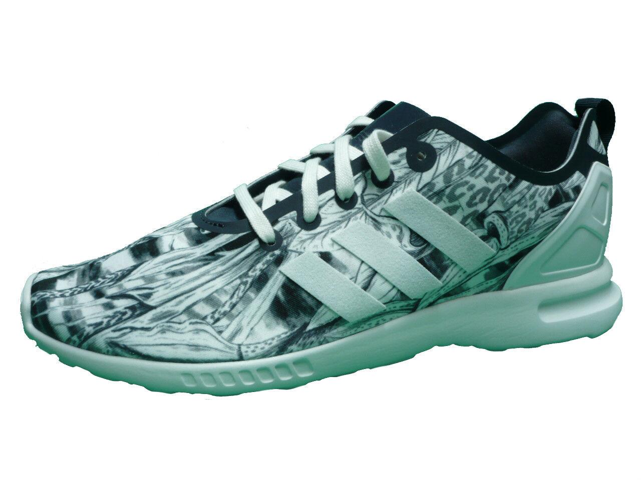 ADIDAS Originals Zx Flux smooth pattern W Scarpe Sneaker Tempo Libero Bianco