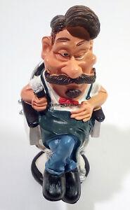 Figurine-Mini-Mestieri-Les-Alpes-Barber-010-99021-Caricature-Collection
