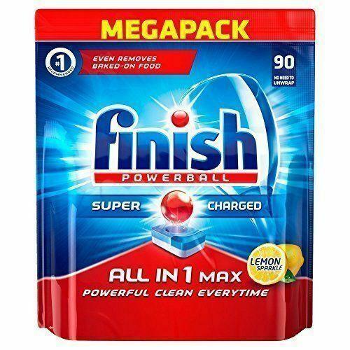 Finish Lemon Dishwasher Tablets Pack of 90