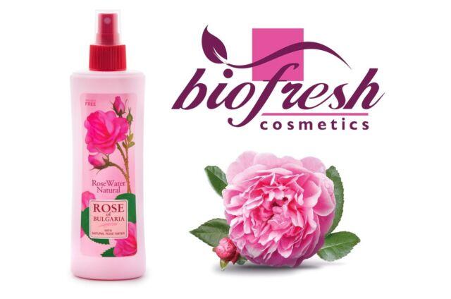 Buy Biofresh 100 Natural Rose Water 230ml Rose Of Bulgaria Spray