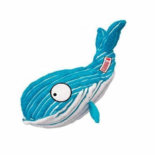 Kong Cuteseas Whale Small Dog Toy Play