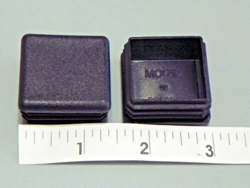 """Plastic Insert Caps /& Plugs the end of 1-3//8/"""" Square Tube 14-20 gage wall// 4 PAK"""