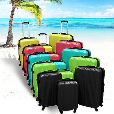 Reisekoffer Trolleybags Kofferset Hartschalen koffer Hartschale Boardgepäck satz