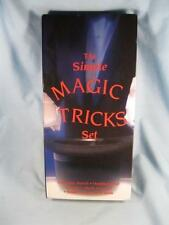 The Simple Magic Tricks Set Never Before Used Book Pencil Handkerchief Cards (O)