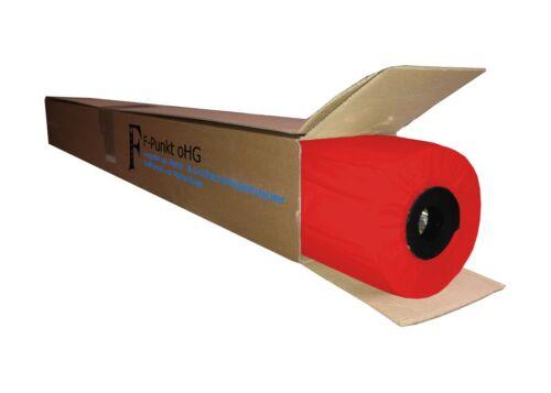 45 m lang 914 mm breit Plotterpapier neonrot // 1 Rolle // 90 g//m² 1,63€//m²