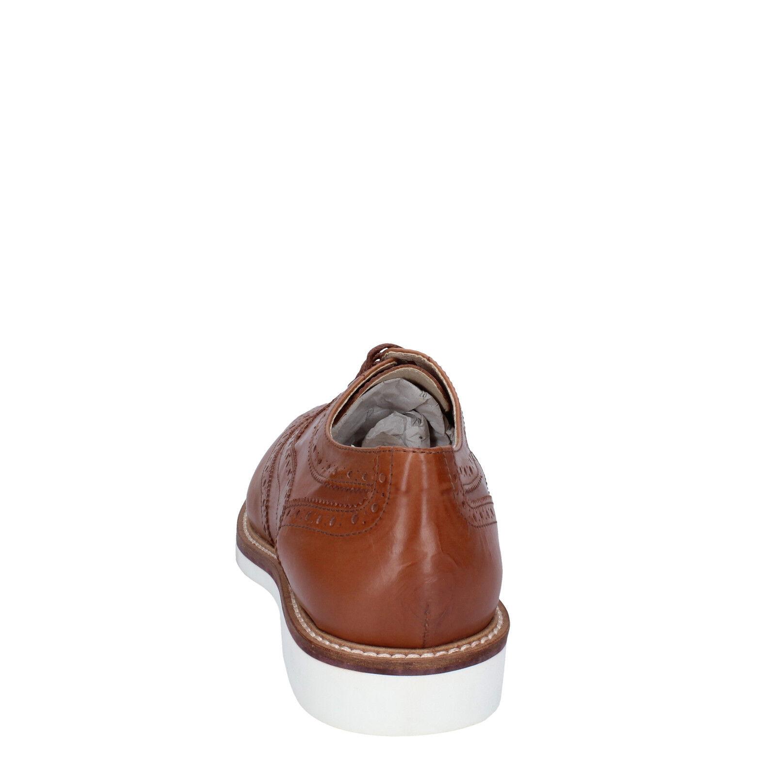 Scarpe uomo K852 & & & SON 40 EU classiche Marroneee pelle BT923-40 | unico  | Scolaro/Ragazze Scarpa  fbde32