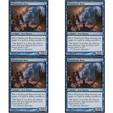 4 x PHANTASMAL BEAR NM mtg Jace vs Vraska Blue - Bear Illusion Com