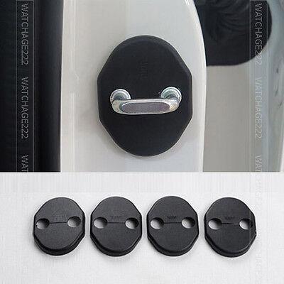 4PC FIT FOR 2014- MAZDA 6 M6 GJ DOOR LOCK CATCH COVER BUCKLE CAP PROTECTOR CASE