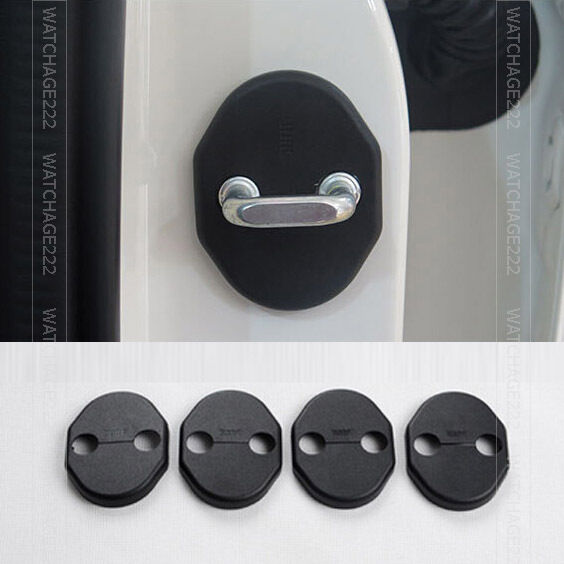 4PC FIT FOR MAZDA 6 M6 GJ 2014- DOOR LOCK CATCH COVER BUCKLE CAP PROTECTOR CASE