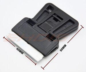 5 50pcs Mini Scrapers 1 5 Razor Blade Plastic Paint Glass Scraping
