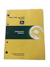 John Deere 4055 4255 Amp 4455 Tractors Operator Manual Omrw25629