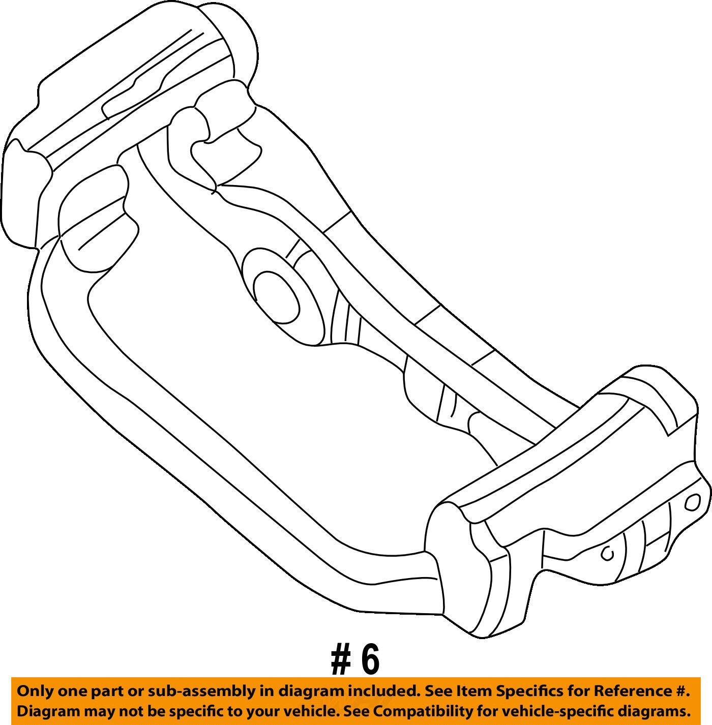 Genuine LH B Pillar Seatbelt Interior Trim 01.5-05 VW Passat B5.5