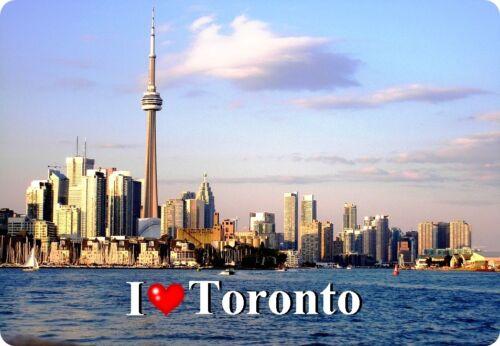 Magnétique-I /'love Toronto II Réfrigérateur Magnétique Aimant Bouclier