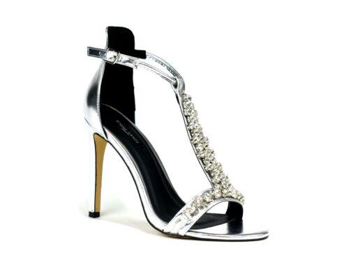 Brand new FEMME HAUTE TALON Fashion Party Wear léger t-bar sandales uk 3-8