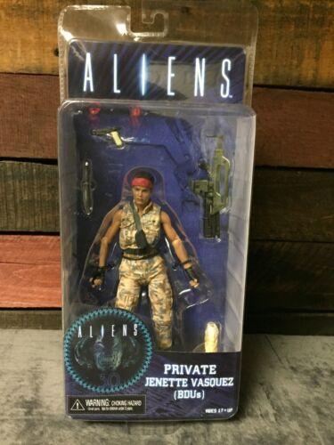 NECA ALIENS Series 12 Private Jenette a Vasquez figurine EDR