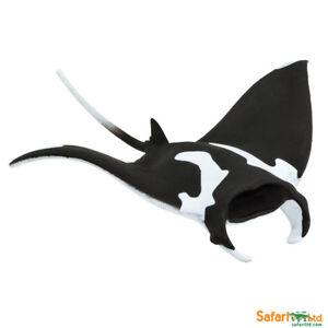 Détails Sur Safari Ltd 100096 Raies Manta 14 Cm Animaux Marins Nouveauté 2018