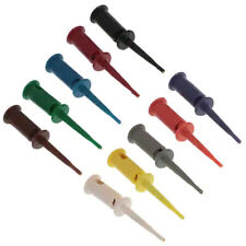 Pomona 5520 Smd Grabber Test Clip Kit 10 Colors 158 Length 035 Diameter