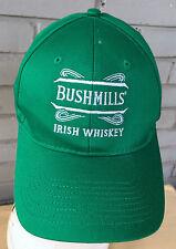 Bushmills Irish Whiskey Booze Adjustable Bartender Baseball Cap Hat Promo