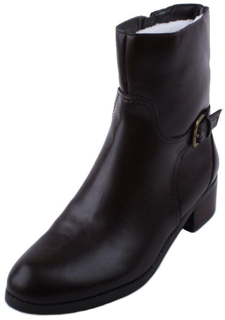 Marc Fisher Trist 2 Women's Dark Brown Ankle Boots
