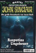JOHN SINCLAIR ROMAN Nr. 1947 - Rasputins Ungeheuer - Jason Dark NEU