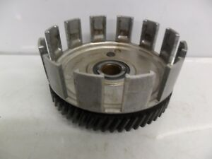SUZUKI-TS125C-1978-82-6v-Clutch-basket-primary-driven-gear-assy