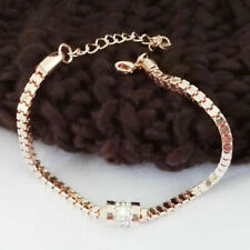 Pink Woman Glass Pearl Decor Round Beads Sweater Necklace 5ft Long BF